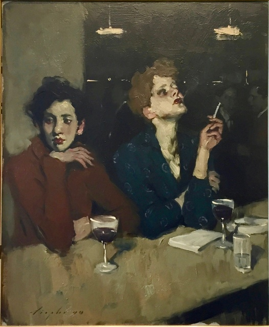 , 'Two Women at The Bar ,' 2000, Off The Wall Gallery