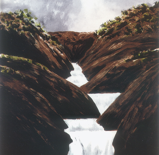 , 'Stepped Waterfall,' 1998, Crown Point Press