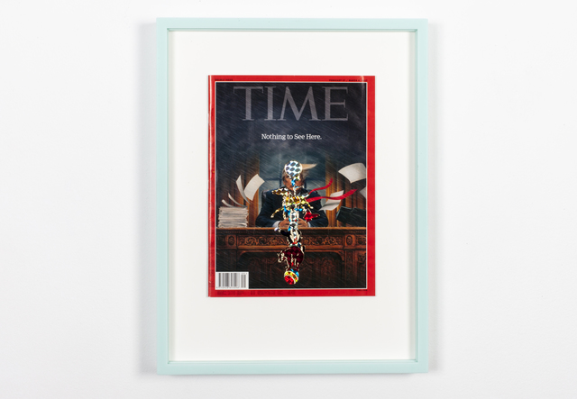 , 'SOME TIME 1709,' 2017, La Patinoire Royale / Galerie Valerie Bach