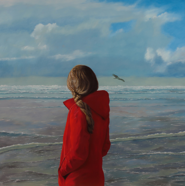 , 'The Red Coat,' 2018, Bowersock Gallery