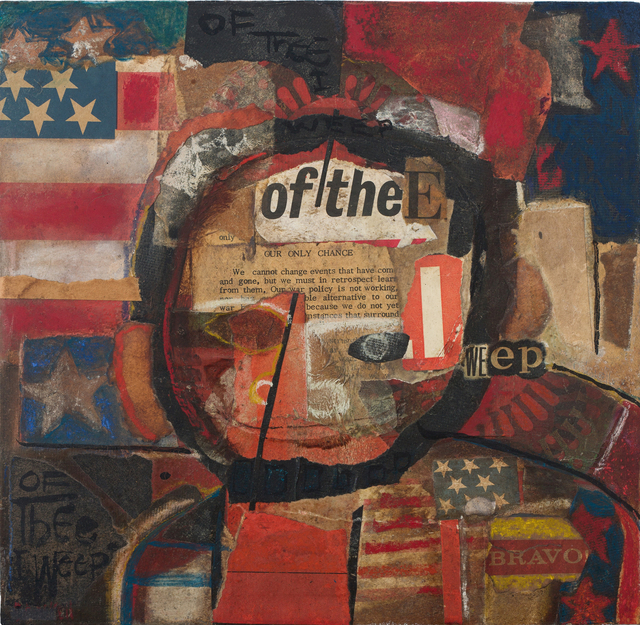 , 'Of Thee I Weep,' 1968, DC Moore Gallery