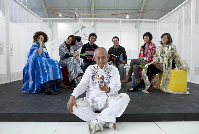 , 'As Cadeiras de Mondrian,' 2010, Baró Galeria