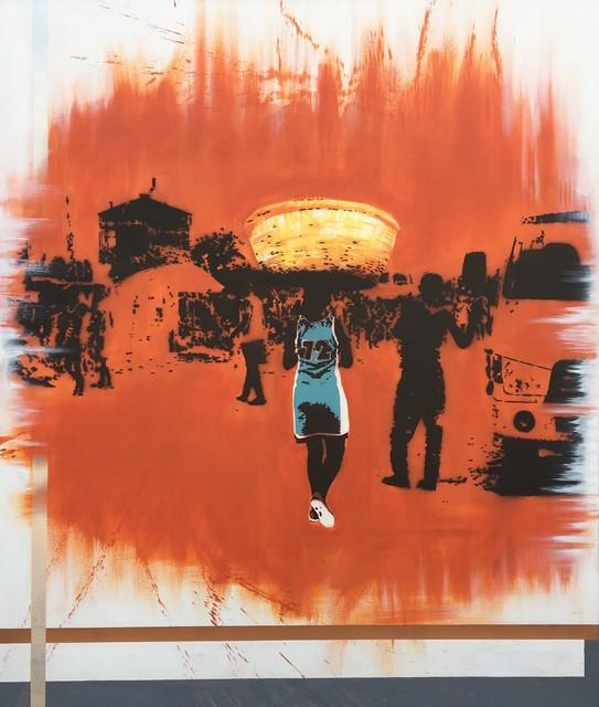 RICARDO KAPUKA, 'Girl with the breads', 2019, WORLDART