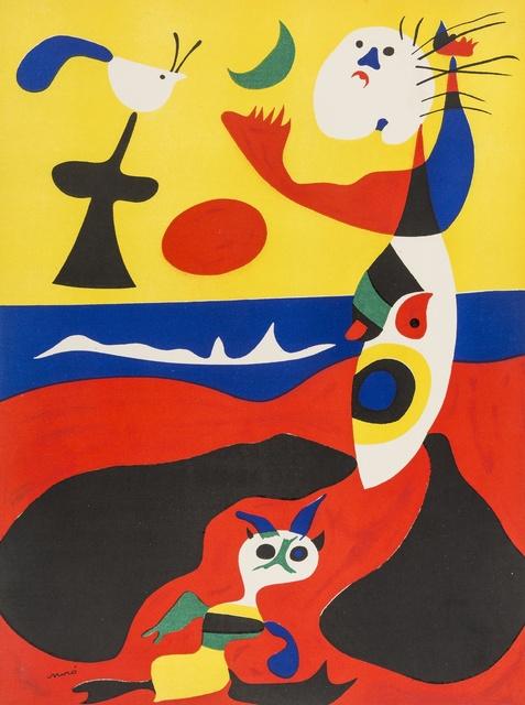 Joan Miró, 'L'Eté (Summer) (Dupin 1310)', 1938, Print, Pochoir in colours, Forum Auctions