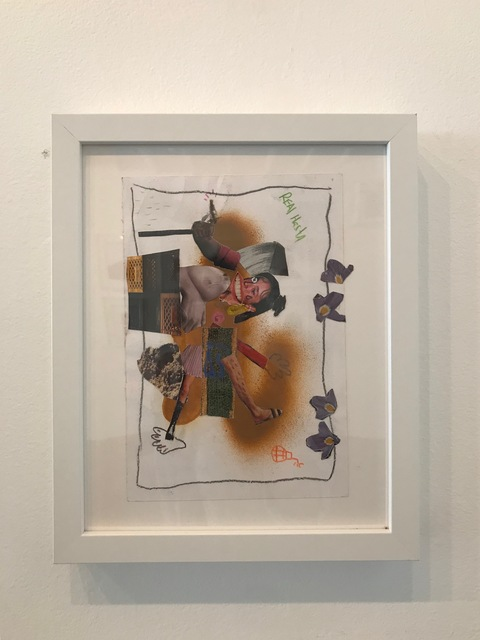 John Rivas, 'Untitled', 2019, Drawing, Collage or other Work on Paper, Superposition