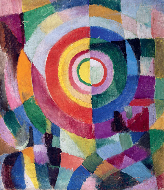 , 'Electric Prisms no.41,' 1913-1914, Tate