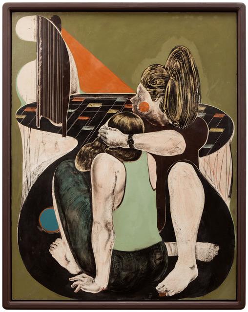 , 'augen zu (eyes closed),' 2016, galerie burster