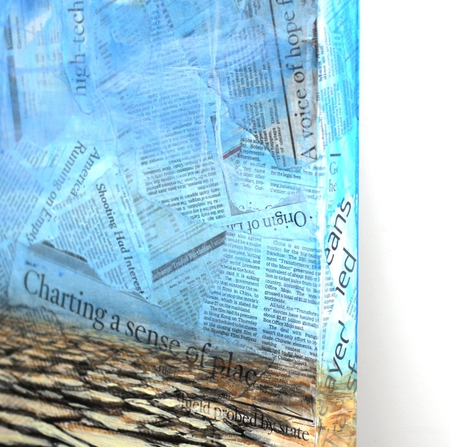 Robert Lebsack, 'Mutually Beneficial', 2014, Painting, Mixed Media on Wood, Artspace Warehouse