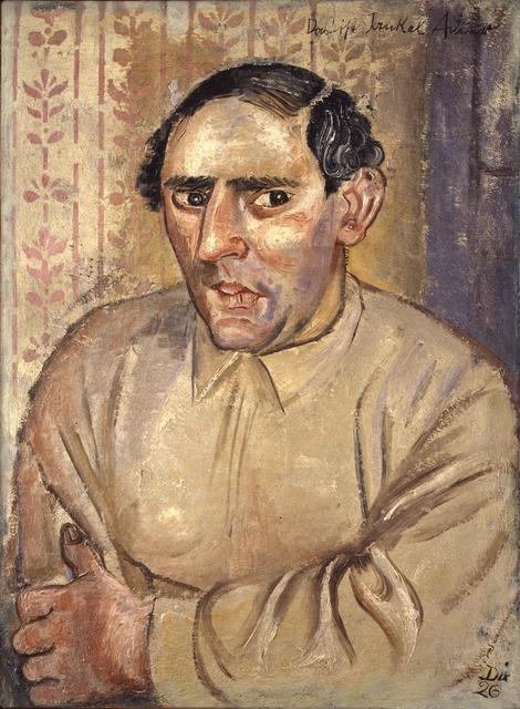 , 'Bildnis Jankel Adler (Portrait of Jankel Adler),' 1926, Luxembourg & Dayan