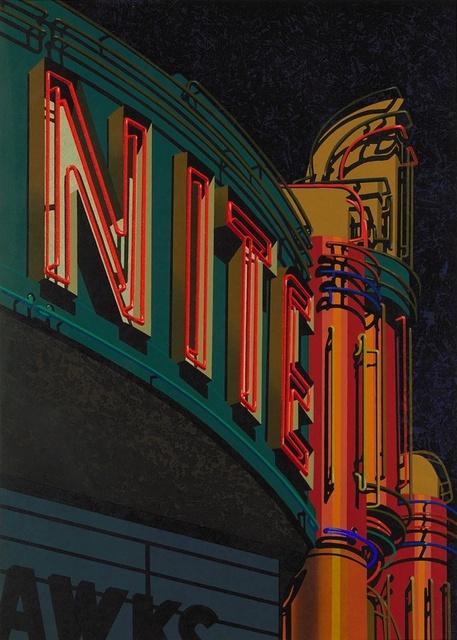 Robert Cottingham, 'Nite ', 2009, Taglialatella Galleries