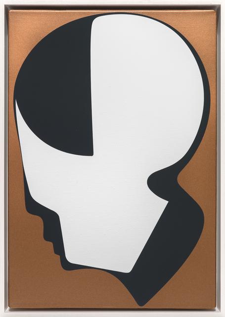 , 'Ohne Titel (Profil Kupfergrund),' 2014, Galerie Thomas Schulte