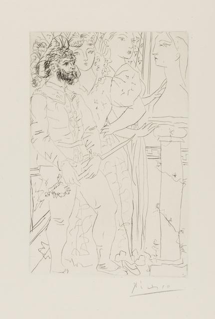 Pablo Picasso, 'Trois Acteurs (Bloch 145)', 1933, Forum Auctions