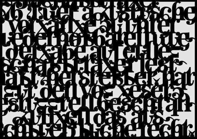 Isabella Kohlhuber, 'From the Law (Detail)', 2018, Bluerider ART