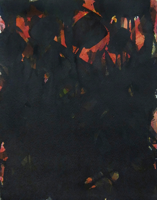 , 'Untitled (Red and Black),' circa 1955, Hollis Taggart Galleries