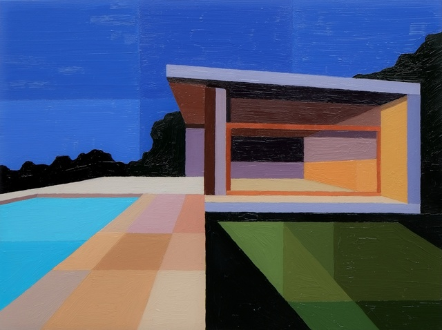 , 'Pool House,' 2016, Cynthia Corbett Gallery