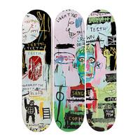 Jean-Michel Basquiat, In Italian Skatedecks