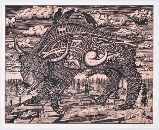 Grayson Perry, 'Animal Spirit (Pink)', 2016, Marlborough Graphics