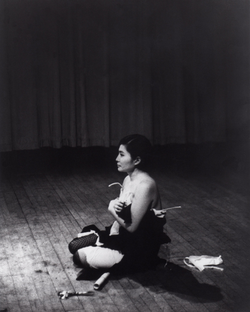 , 'Cut Piece (1964) performed by Yoko Ono in New Works of Yoko Ono, Carnegie Recital Hall, New York, March 21, 1965,' 1964 -1965, The Museum of Modern Art