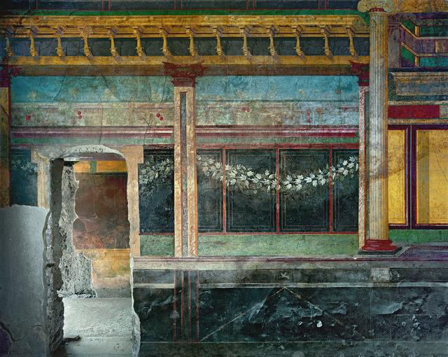, 'Villa dei Misteri, Pompei,' 2017, Studio Trisorio
