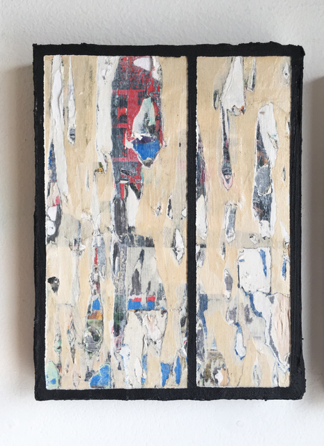 Francesca Reyes, 'Door #12', 2018, Painting, Oil, acrylic & paper on panel, Deep Space Gallery