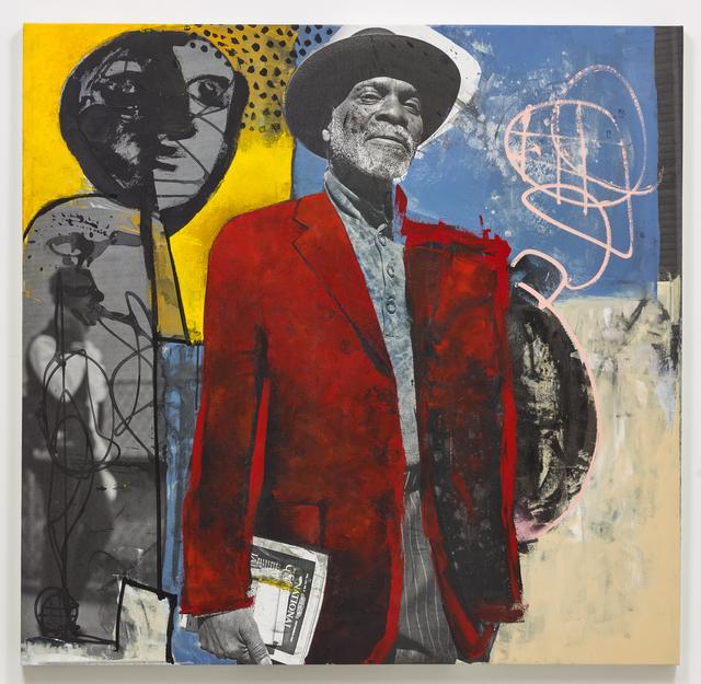 , 'Man with the Black Hat (Collab),' 2017-2019, Brannan Mason Gallery