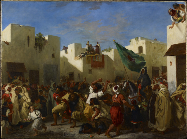 , 'Convulsionists of Tangier,' 1837-1838, The National Gallery, London