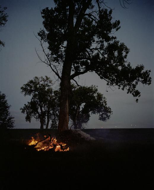 , 'Fire and Tree, Omaha, NE,' 2005-2018, Huxley-Parlour