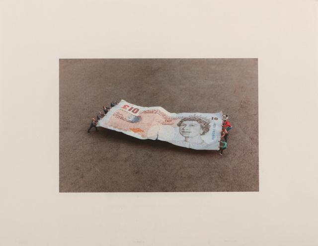 Slinkachu, ''Tug Of War' Bank Of England', 2014, Chiswick Auctions