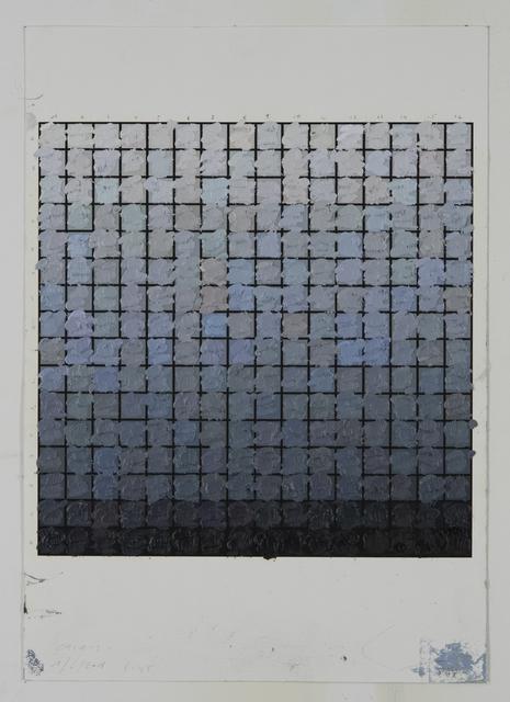 , 'Colorscape Calais 01/06/2018 08:45,' 2018, Whitehouse Gallery