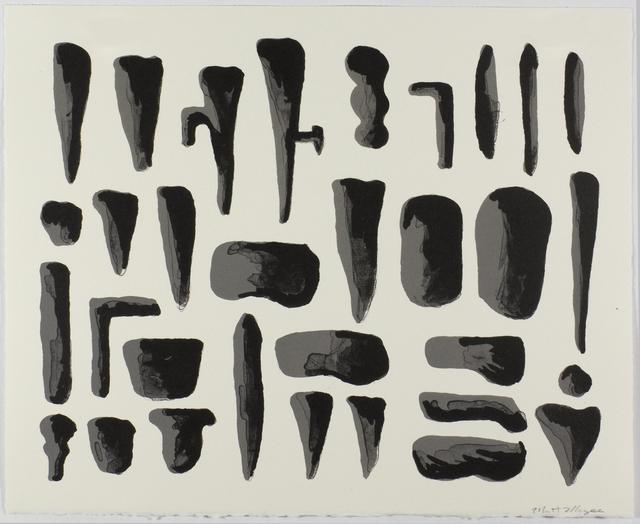 , 'Collection 2,' 2016, Tamarind Institute