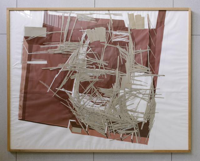 Tadashi Kawamata, 'Project Nove de julho Cacapava. San Paulo Plan F-2', 1987, Art Front Gallery