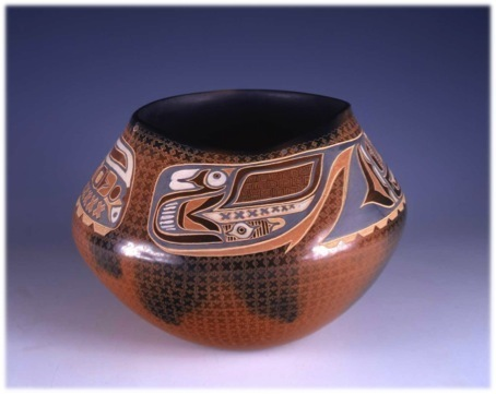 , 'Storage Jar with painted designs (Red Northwest Coast),' 1997, Montclair Art Museum
