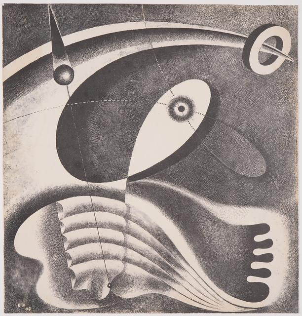 , 'Heliographic Composition (XLV),' 1939, Olszewski Gallery