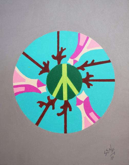 , 'Peace,' 2017, Fountain House Gallery