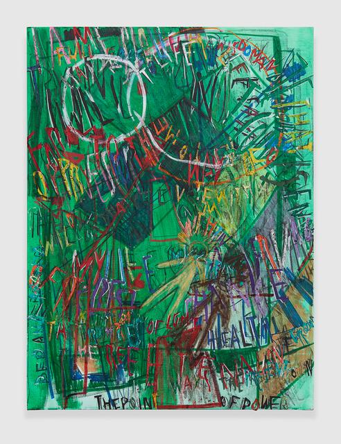 , 'RGB Affirmations (Green),' 2018, PRAZ-DELAVALLADE