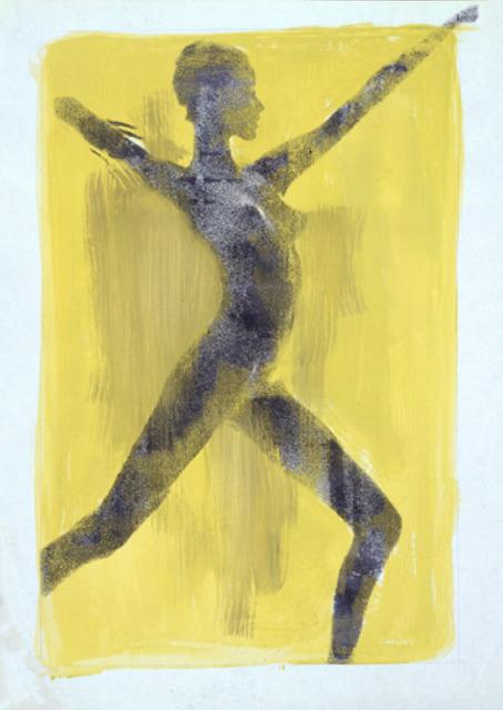 , 'Veruschka, Poetry, Yellow Silkscreen,' 1965, Keyes Art