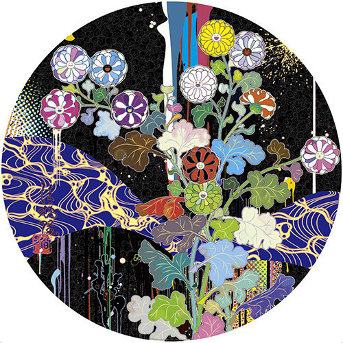 Takashi Murakami, 'Korin: Stellar River in the Heavens', 2015, Dope! Gallery