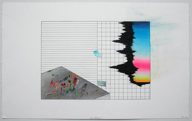 , 'Étude collatérale 16,' 2013, Galerie Graff
