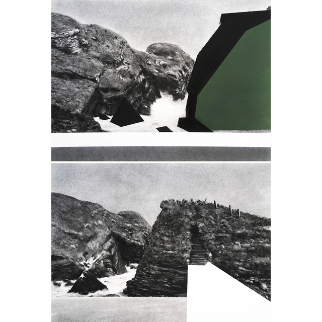 , 'Bords (Diptych),' 2019, Jean-Louis Ramand