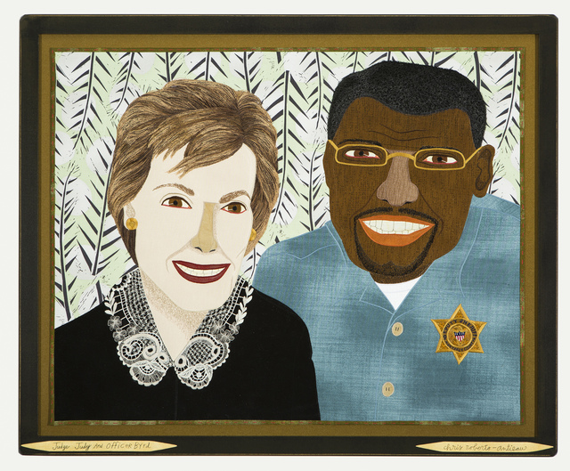 , 'Judge Judy and Officer Byrd,' 2018, Antieau Gallery