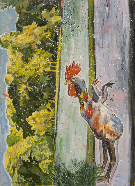 , 'A Rooster in Prospect Park in Brooklyn,' 2016, Taymour Grahne