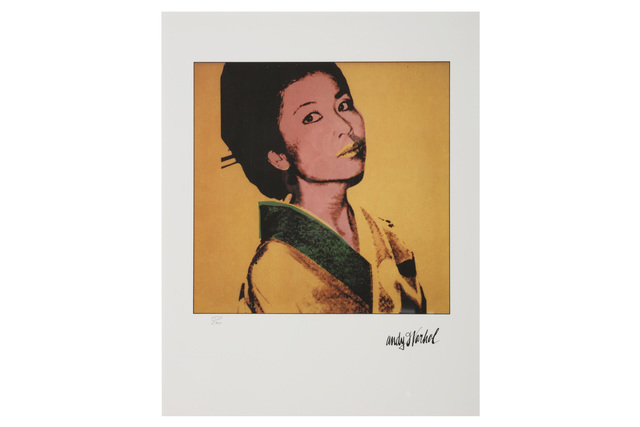 Andy Warhol, 'Faces - Kimiko Powers', 1980s, Chiswick Auctions