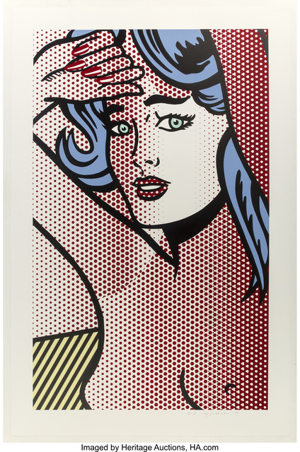 Roy Lichtenstein, 'Nude with Blue Hair, from Nudes', 1994, Heritage Auctions
