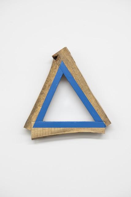 , '三角の木組み,' 2000, Gallery 38