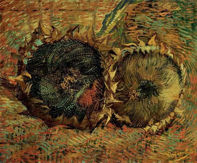 , 'Les tournesols (Sunflowers),' 1887, Kunstmuseum Bern