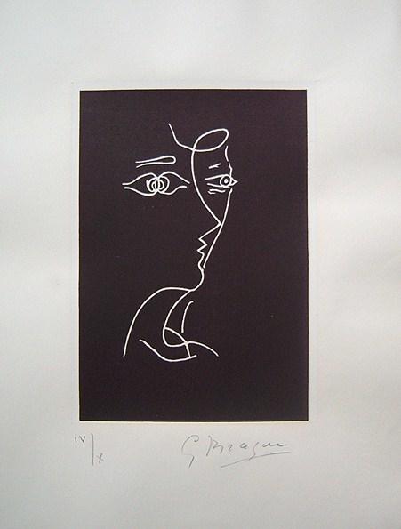 Georges Braque, 'Profil, Tir a l'Arc', 1960, F.L. Braswell Fine Art