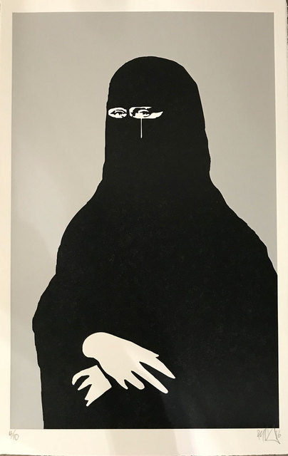 Ryan Callanan (RYCA), 'Ona Islam - Gray', 2017, Print, Color silkscreen, Robert Fontaine Gallery