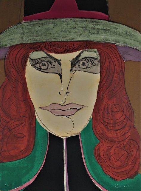 Richard Lindner, 'Read Head', 1971, Joseph Grossman Fine Art Gallery