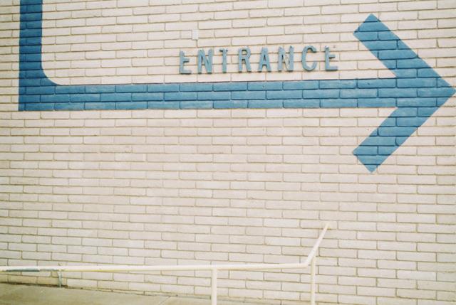 , 'Untitled (Entrance),' 2017, Cob