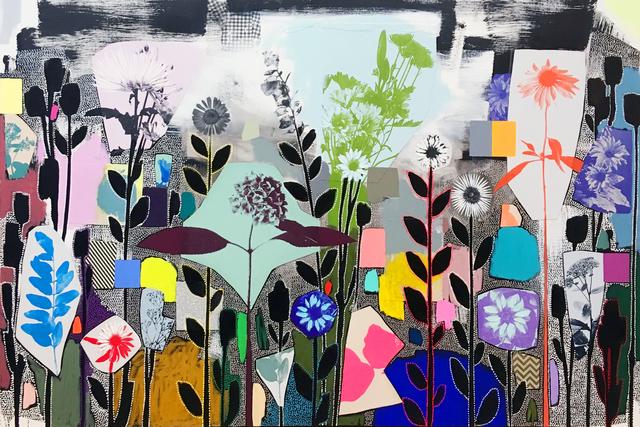 Emily Filler, 'Dreamscape (Garden Party) II', 2019, Newzones